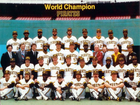 1979: PITTSBURGH PIRATES (4) vs. BALTIMORE ORIOLES (3); pittsburgh infielders: willie stargell (1b), phil garner (2b), tim foli (ss), bill madlock (3b) - .398 avg. and accounted for over half of team's base-hits, runs scored and rbis