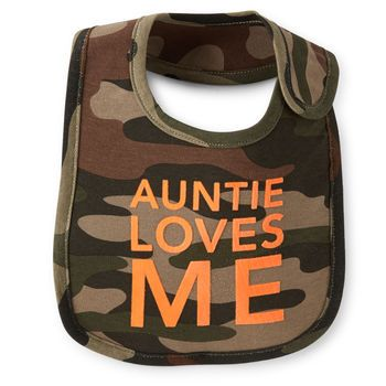 Auntie Loves Me Teething Bib (Carter's nb-24m)