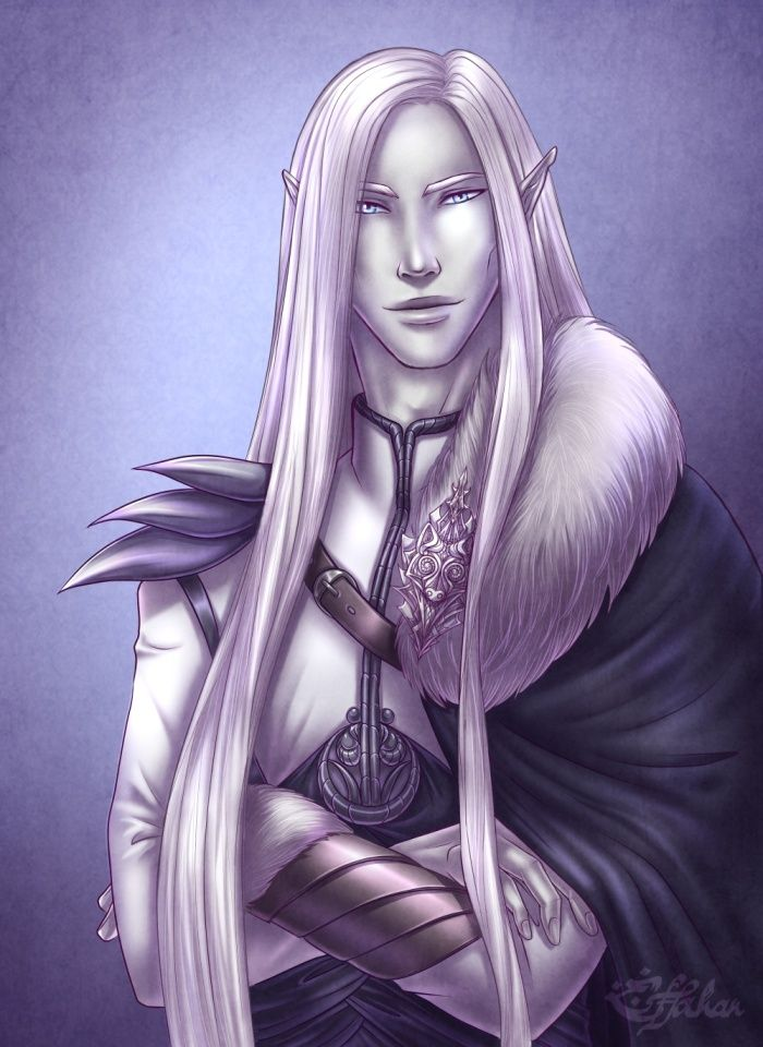 Gelean - the White Wolf by Estfahan.deviantart.com on @DeviantArt