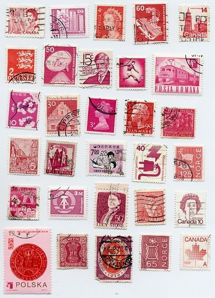 stamps..