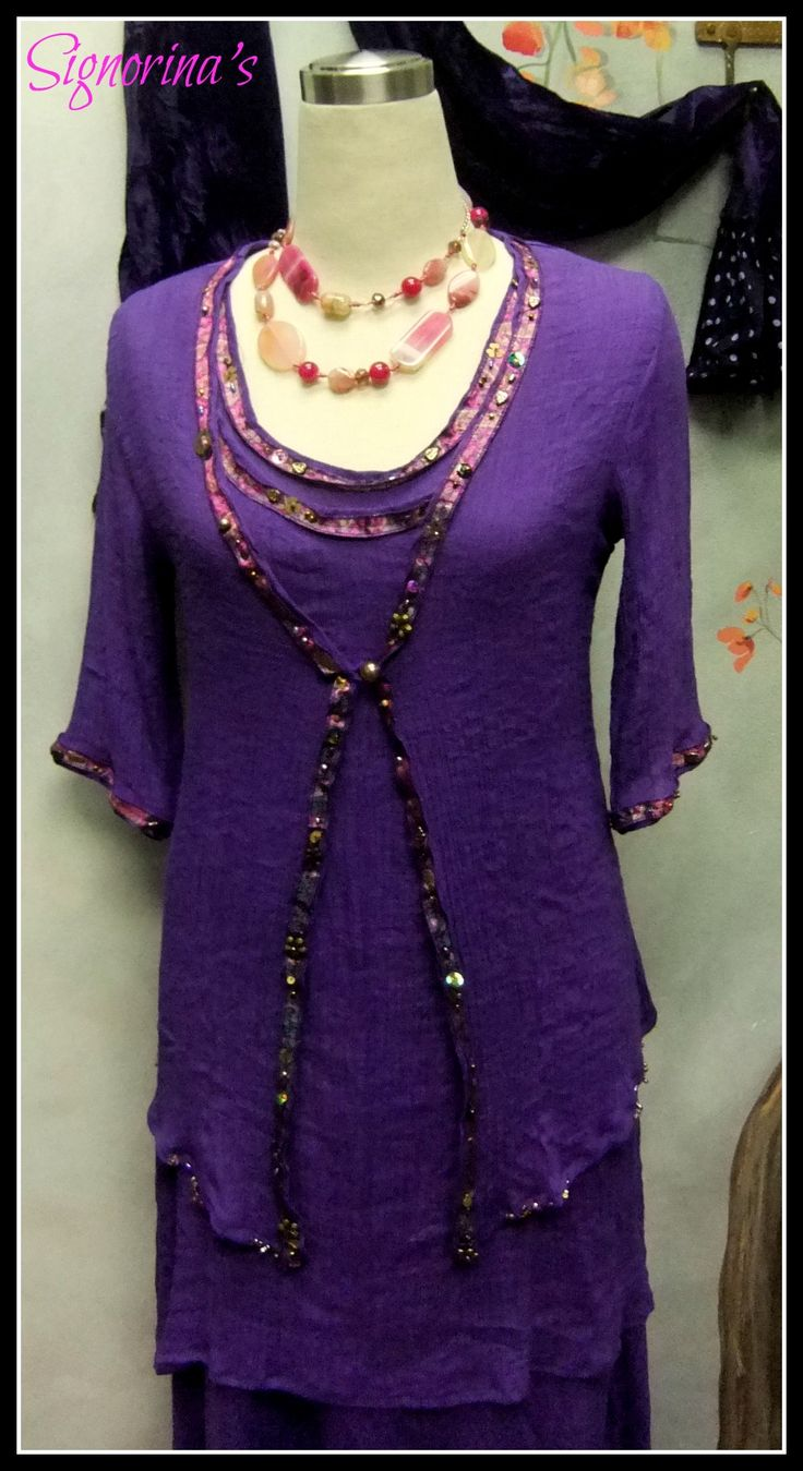 Purple Mother of the Bride. Exclusively from Signorina's