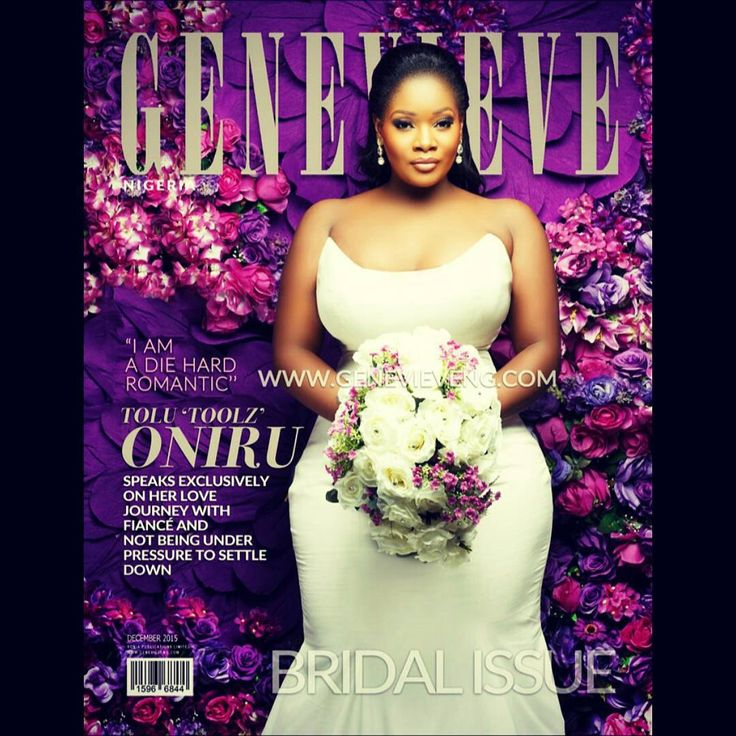 Toolz Oniru Sexy, Gorgeous, Beautiful and a Blushing Bride on the Cover of Genevieve Magazine | Creebhills