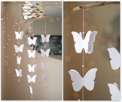 buttefly garland, love it!
