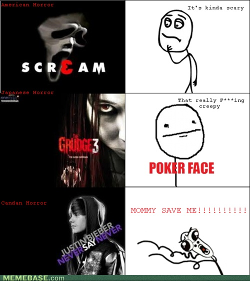 internet memes - Rage Comics: One Teenage Girls Dream is Another Man's Horror