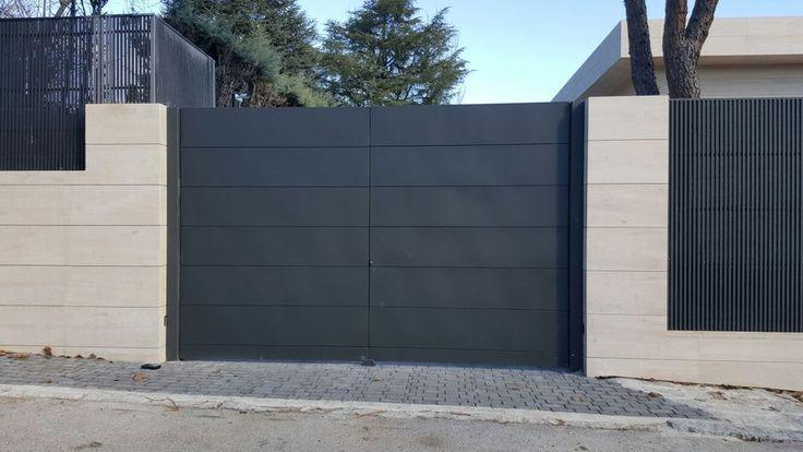 Puerta garaje dise o ms pue451 frente pinterest - Puertas para viviendas ...