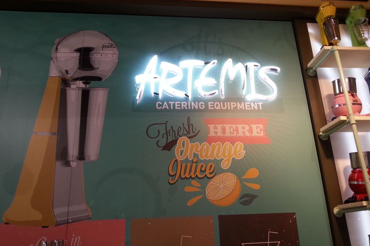 Here fresh Orange juice by ARTEMIS MIXER in HOST 2015 http://bit.ly/1M3BqGa