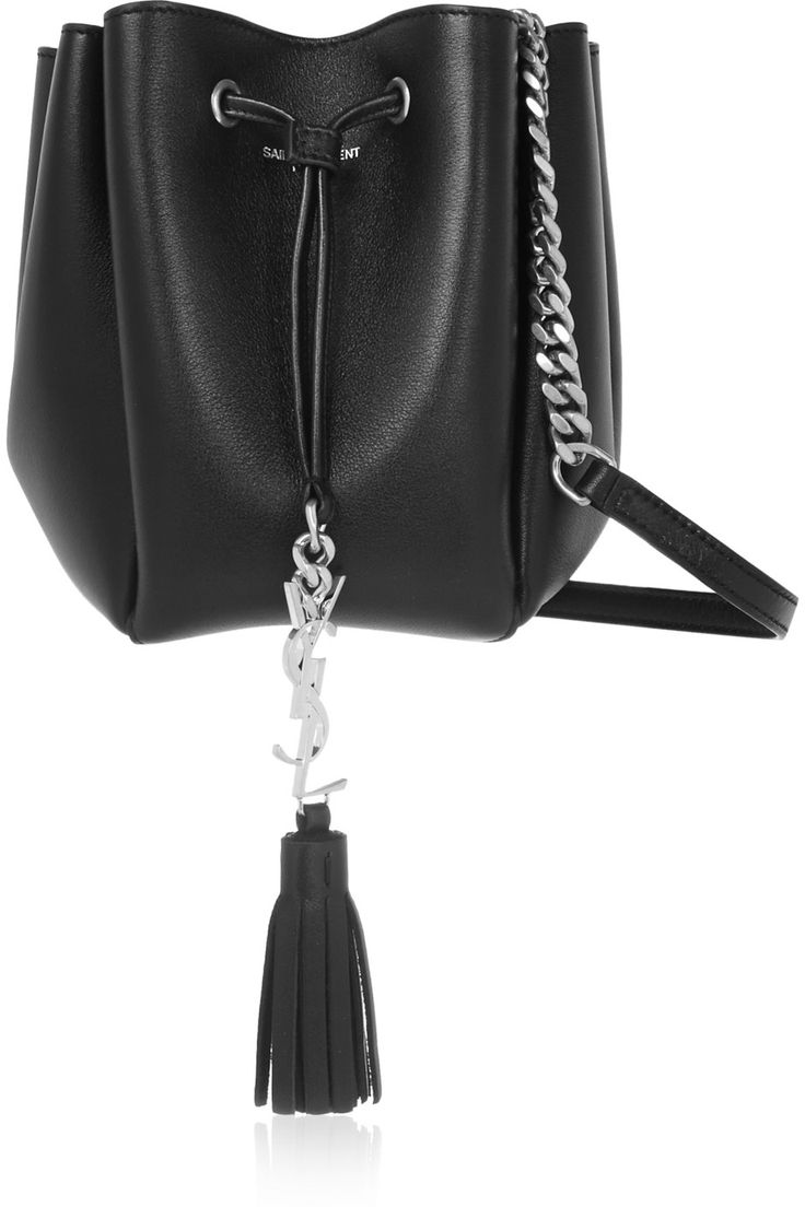 Saint Laurent | Monogramme Bourse mini leather bucket bag | NET-A ...