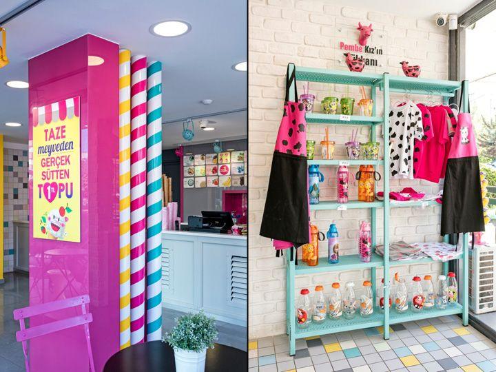 Dondurma Dkkan Ice Cream Shop By Kst Architecture Interiors Antalya