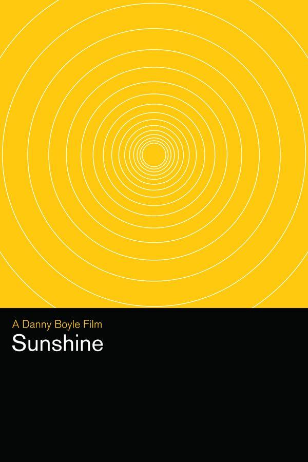 Sunshine (2007) ~ Minimal Movie Poster by Matthew Bond ~ Danny Boyle Series #amusementphile