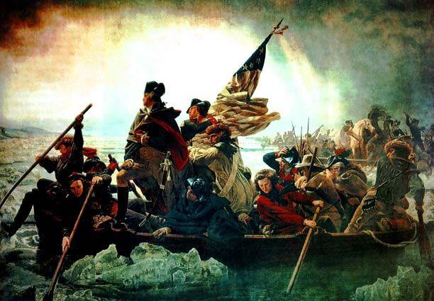 The Battle of Trenton – Washington Crosses the Delaware River «