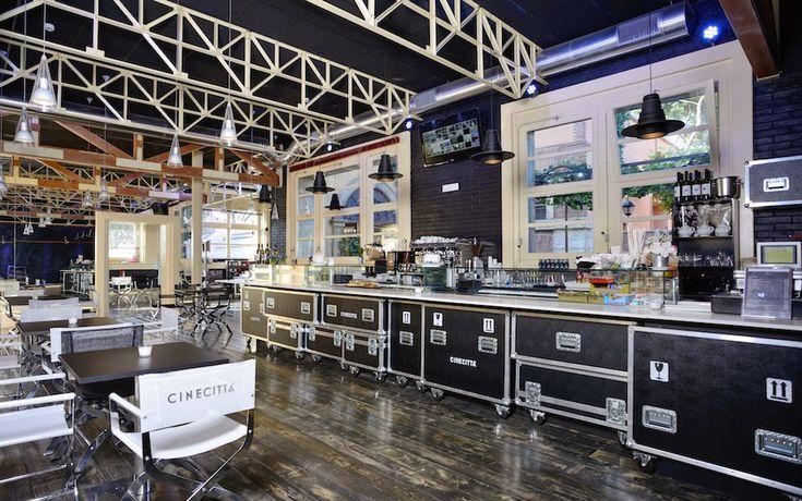 FLIGHTCASE S.r.l.  ROMA: Cinecittà Cafe'