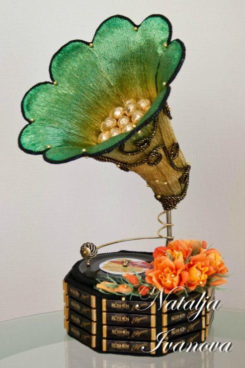 Natalja Ivanova - sweet bouquet!!!  Gallery.ru / Фото #79 - Сладкие скульптуры - forsteriana