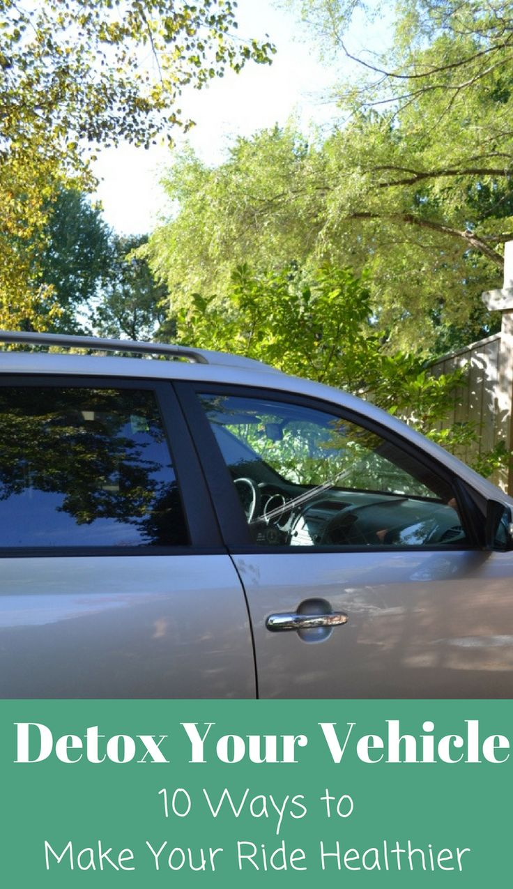 Loving these simple ways to detox your vehicle. They're so easy and I had no idea the air inside the car was 6x time dirtier than outside! This site has so many green living tips. #FRAMFresh #AD