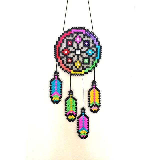 79 best perler bead patterns dream catchers images on for Dreamcatcher beads meaning