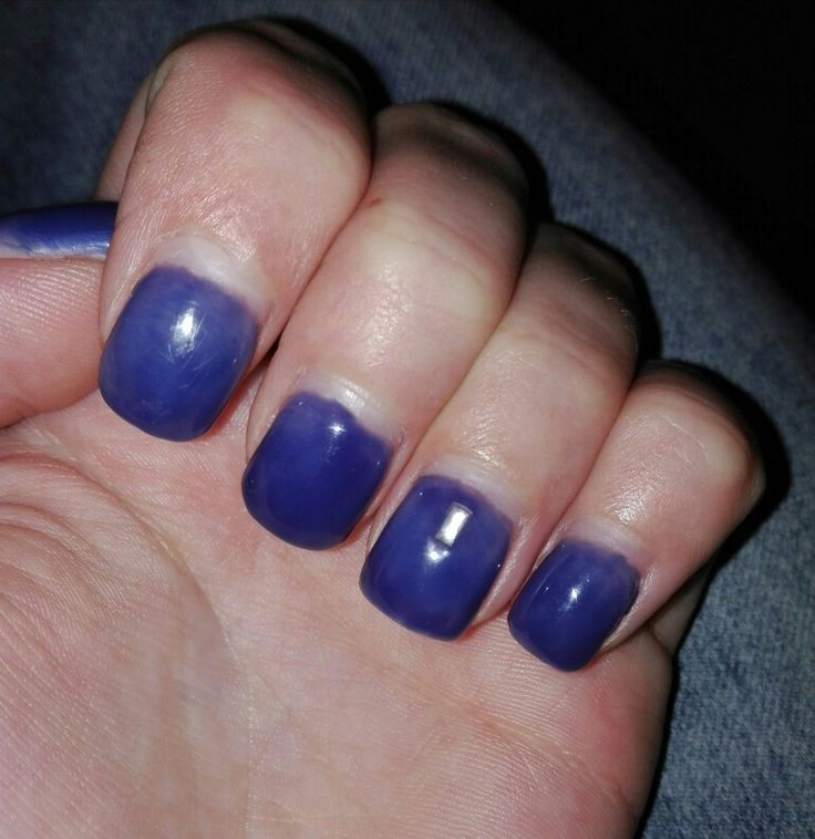 my nails, made by me. :)