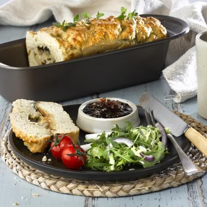 Italian cheese scone loaf | National Baking Week
