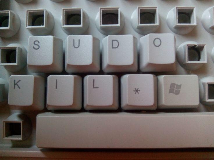 sudo kill windows