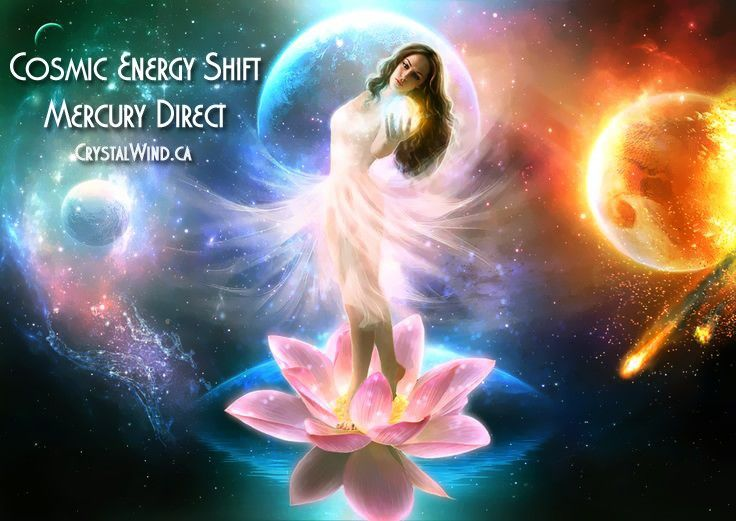 Cosmic Energy Shift & Mercury Direct!