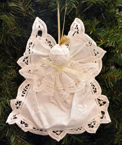 Crochet Angel Baptism Gift Christmas Lace Angel Ornament Tree: 1000+ Ideas About Victorian Christmas Ornaments On