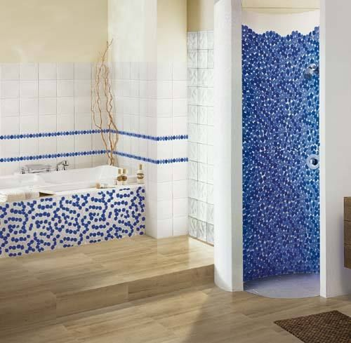 Oltre 25 fantastiche idee su bagno con mosaico su pinterest bagni bagno di famiglia e bagno - Rivestimenti per doccia ...