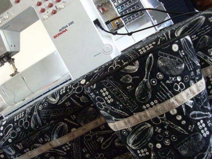 mat and thread catcher pattern
