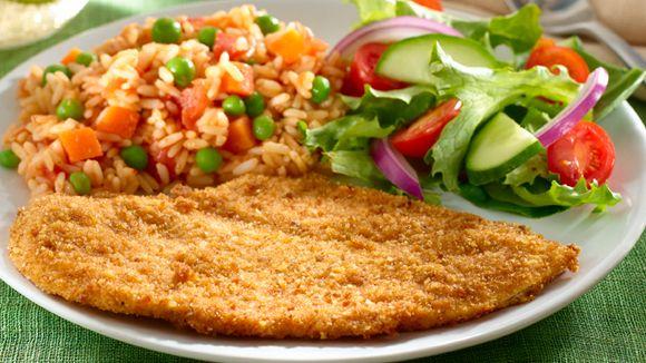 Esta receta de milanesas de pollo es bastante deliciosa y muy nutritiva....provecho!
