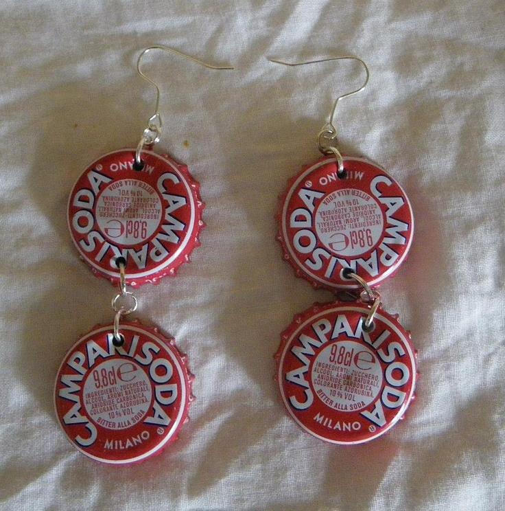 orecchini campari soda