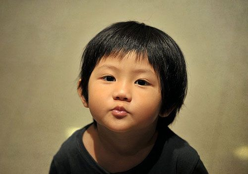 Boy Hairstyles With Bangs: Japanese Boy Haircut