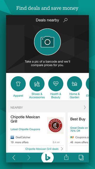 AppsUser: Bing para iOS ahora cuenta con búsquedas a partir de imágenes