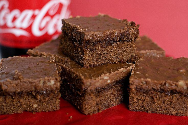 CHOCOLATE COCA-COLA CAKE | Coca cola cake | Pinterest