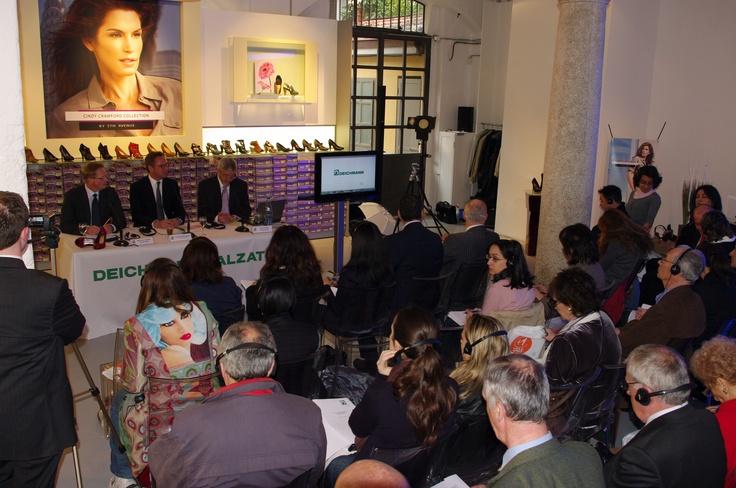 Deichmann Calzature Press Conference / Open Day - Milan