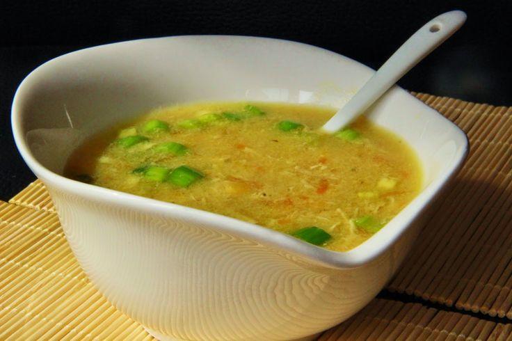 V kuchyni vždy otevřeno ...: Asijská kuřecí polévka s kukuřicí