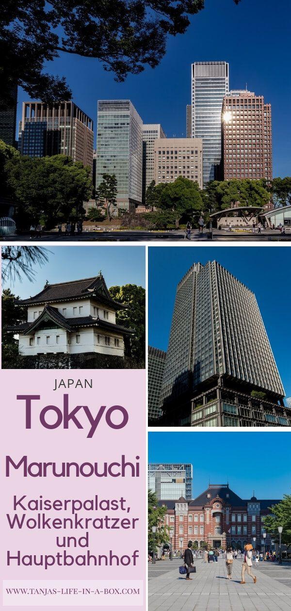 Tokyo Marunouchi Kaiserpalast Wolkenkratzer Und Hauptbahnhof Wolkenkratzer Urlaub In Japan Hauptbahnhof
