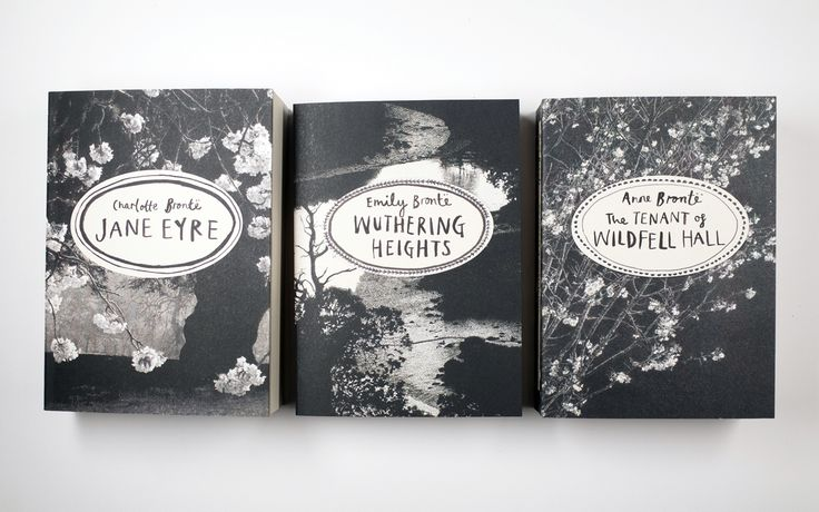 The new Vintage Classics editions of three of the Brontë's most famous novels