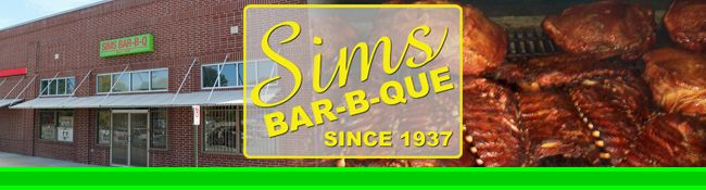 Sim's.  I can throw down on some bbq and greens with a 40 of Bud Light.  Their BBQ bologna sandwich is the bomb.