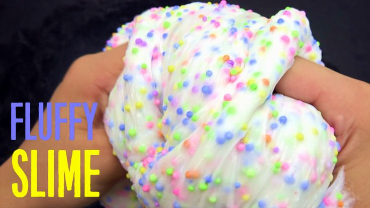 how to make very very fluffy slime