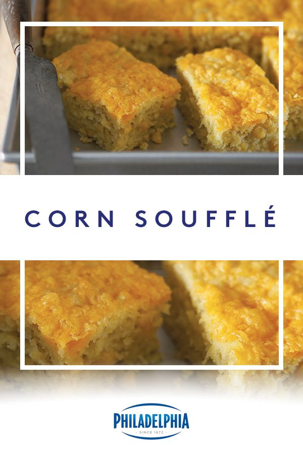 Sweet and savory, our Corn Soufflé made with KRAFT Shredded Cheese and PHILADELPHIA Cream Cheese will be the highlight of your Thanksgiving dinner. And with a turkey like yours, that's saying a lot. #ItMustBeThePhilly