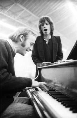 Stephen Stills & Mick Jagger // Amsterdam // 1970 © HENRY DILTZ