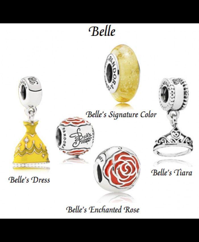 66da484a2 Disney Belle S Charm Gift Set Sale UK | pandora disney charms ...