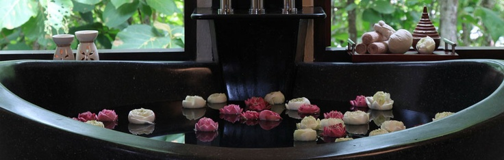 Spa Suite Bath at Kiridara, Luang Prabang, Laos