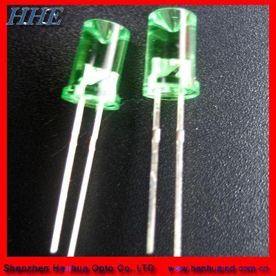 5mm oval led diode full color (50CHHRD-O) - China full color oval led diode, HHE