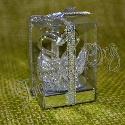 Marturie eleganta lebede din cristal