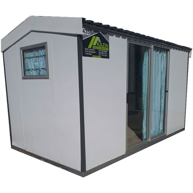 Kazin Insulated Unit 4.2m x 2.4m Suitable for Site Offices & Accommodation