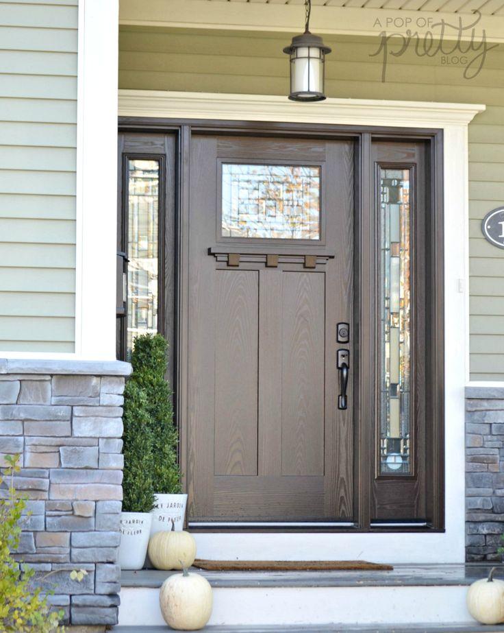 Lovely Masonite Fiberglass Entry Door Reviews Camalli