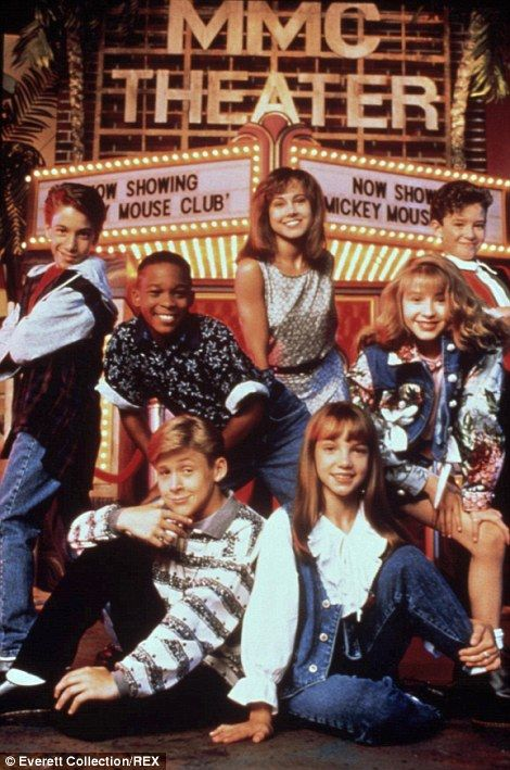 The Mickey Mouse Club with T J Fantini, Tate Lynche, Ryan Gosling, Nikki Deloach, Britney Spears, Christina Aguilera and Justin Timberlake, ...