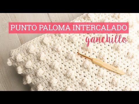 Aprende como tejer con Gancho mariposas de colores con relieves y flores - YouTube