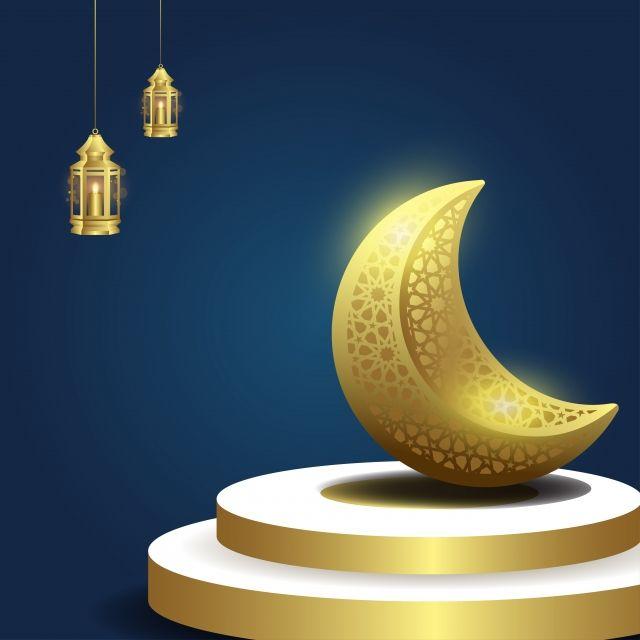 رمضان كريم خلفيات اسلامية مع القمر والفانوس بانر دعاء زهري Png والمتجهات للتحميل مجانا Ramadan Kareem Ramadan Islamic Background Vector