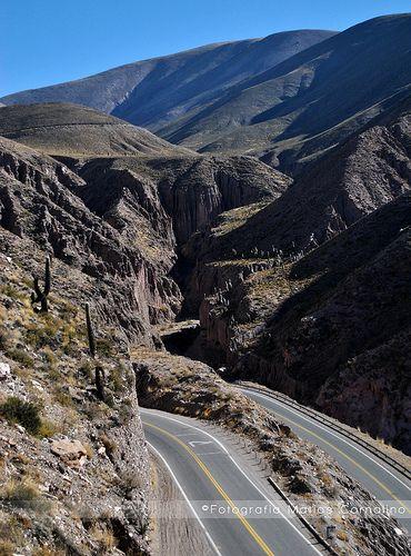 Camino a las Salinas Grandes, Jujuy