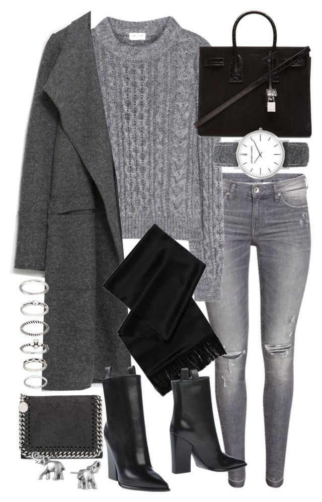 """Untitled #19557"" by florencia95 ❤ liked on Polyvore featuring Yves Saint Laurent, Zara, CÉLINE, STELLA McCARTNEY, Lonna & Lilly, Forever 21, women's clothing, women, female and woman"