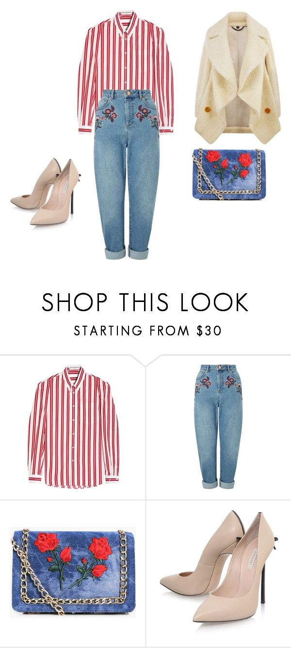 """Весна пришла-и мы идем красивые!!!"" by yana-ardysheva on Polyvore featuring мода, Balenciaga, Miss Selfridge, Boohoo, Casadei и Burberry"